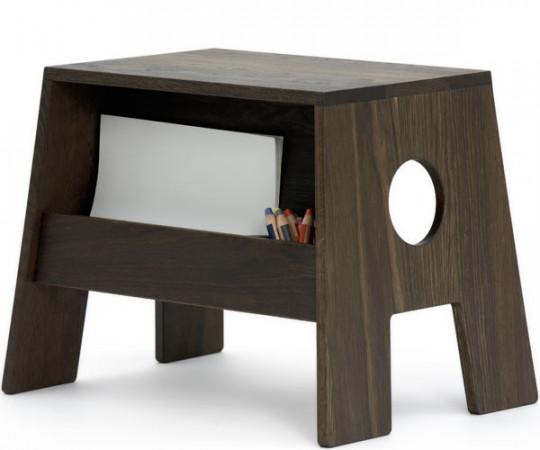 Collect Furniture Stoolesk Røget/Olie