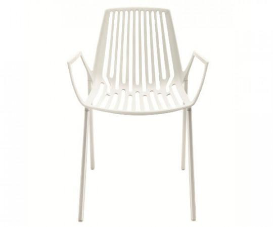 Fast Design Rion armstol - Hvid
