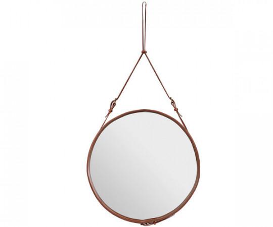 Gubi Adnet Circulaire Mirror Tan - Ø45cm. - Small