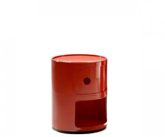 Kartell Componibili 2 Rum Rød