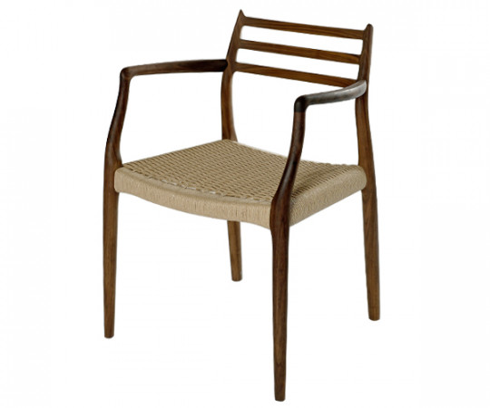 J L møller no 62 stol Valnød