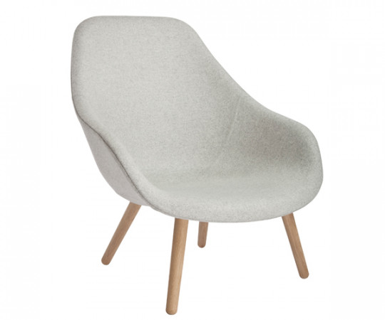 HAY About a Lounge Chair High/ SOFT (AAL92) Uldstof