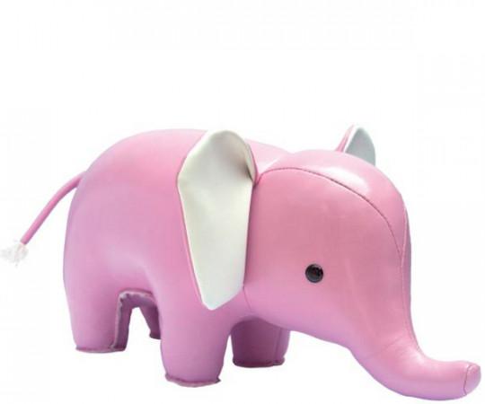 Züny Elefant Lyserød