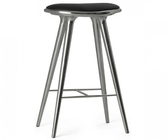 Mater barstol recycled aluminium - H: 74cm