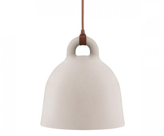 Normann Copenhagen Bell Lamp Large sand