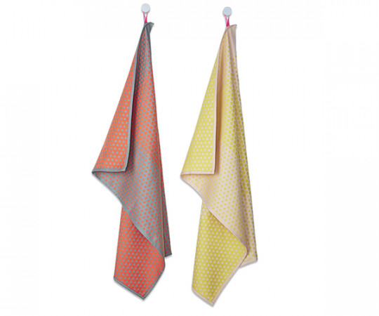 HAY - Tea Towels - Layer Dots - Viskestykker - 2 stk