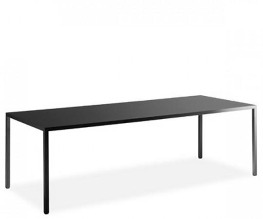 MDF Italia Tense Black - 220x90cm