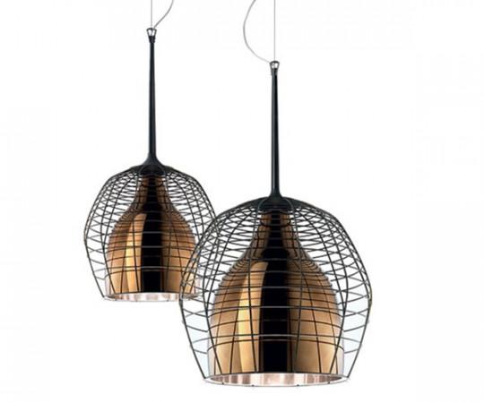 Diesel+Foscarini Cage Pendel Lampe Bronze