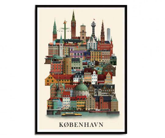 Martin Schwartz København A3 Poster