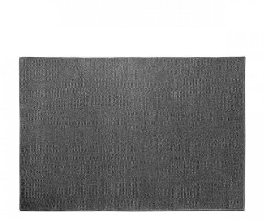 Vipp 143 Uldtæppe - 200x300cm. - Mørkegrå