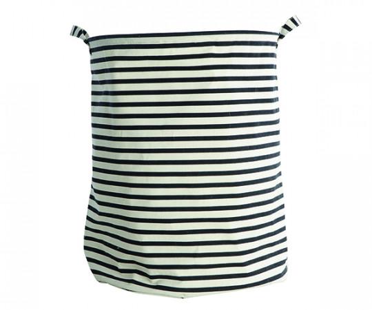 House Doctor Laundry Bag - Stripes - Vasketøjskurv