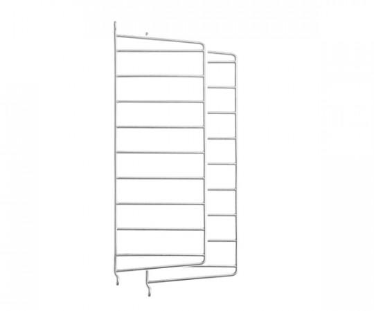 String Gavl 2-pack - Væghængt 50x20cm - Galvaniseret