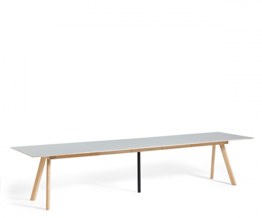 HAY CPH30 Udtræksbord - 250-450x90cm. - Linolium