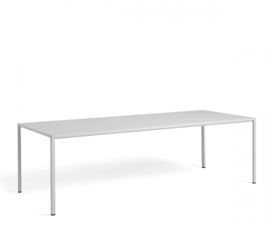 HAY New Order Table - 250x100cm. - Light Grey