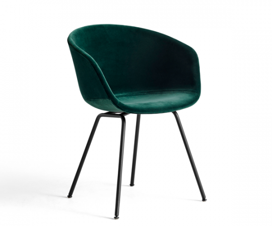 HAY About A Chair (AAC27) - Dark Green Lola Velour