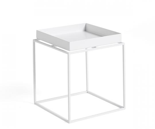 HAY Tray Table - 30x30cm - Hvid