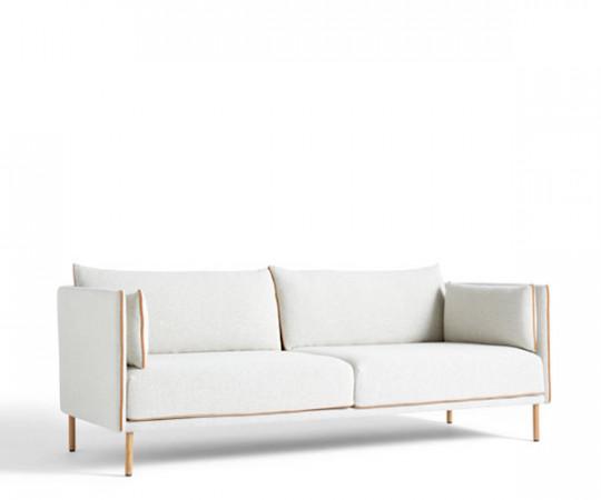 Hay Silhouette 3P Sofa - Lav Ryg - Coda 100 Stof