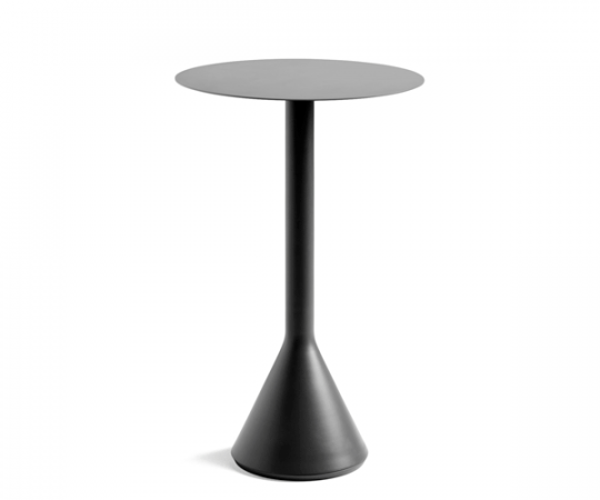 HAY Palissade Cone Table - Dia.60x105cm. - Anthracite