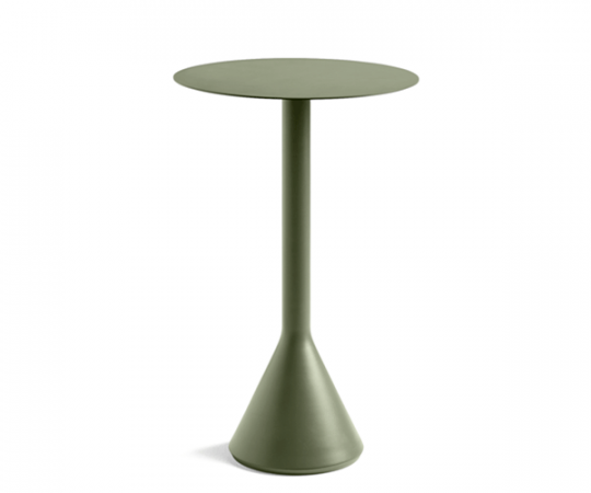 HAY Palissade Cone Table - Dia.60x105cm. - Olive