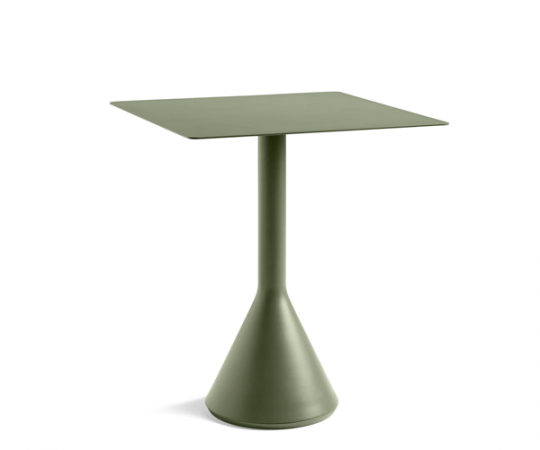 HAY Palissade Cone Table - 65x65cm. - Olive