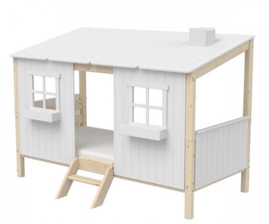 flexa classic house husseng - hvid natur