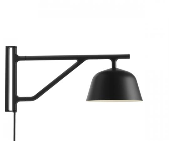 Muuto Ambit Væglampe - Sort