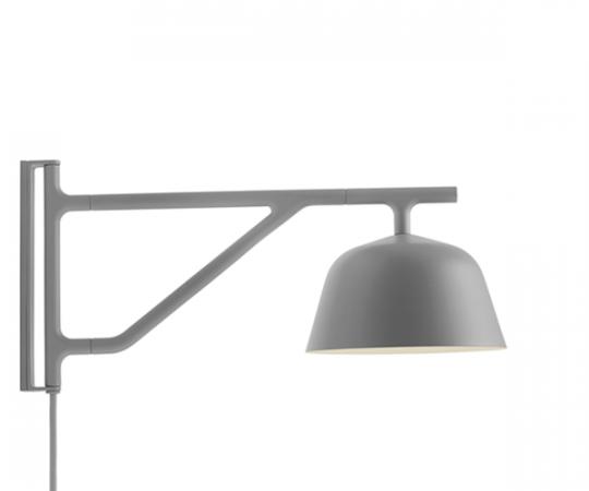 Muuto Ambit Væglampe - Grå