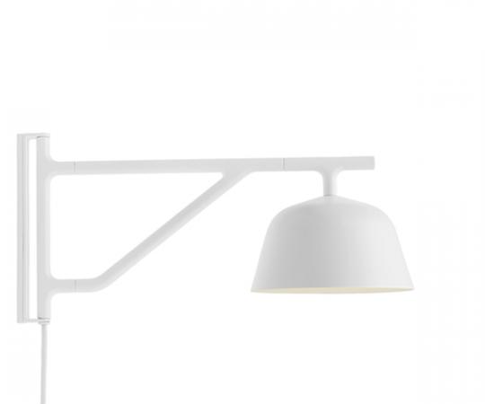 Muuto Ambit Væglampe - Hvid