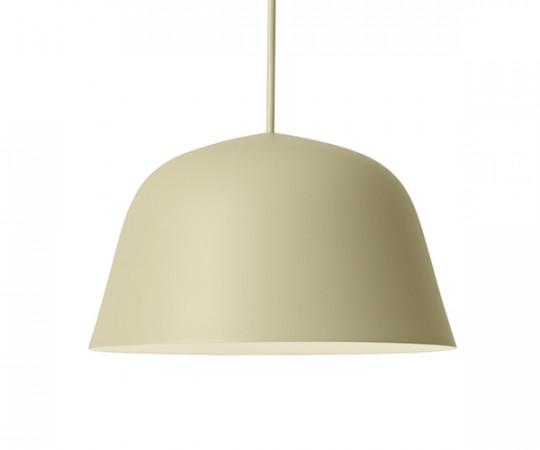 Muuto Ambit Pendel Lampe - Small - Beige/Green