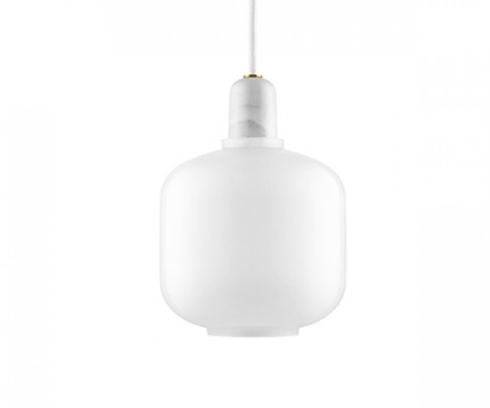 Normann Copenhagen Amp Lamp Small white/white