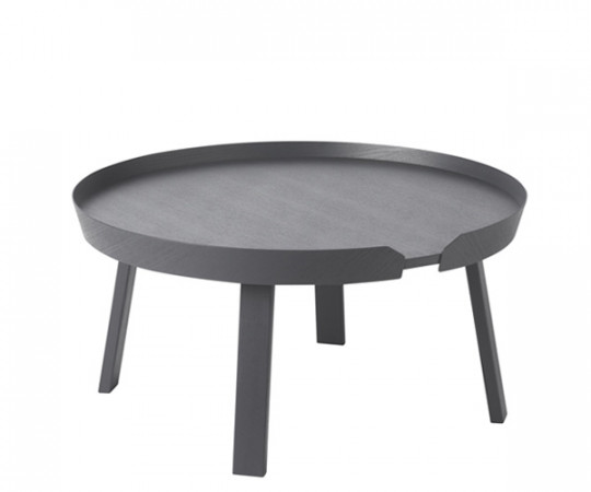 Muuto Around Coffee Table - Stor - Anthracite