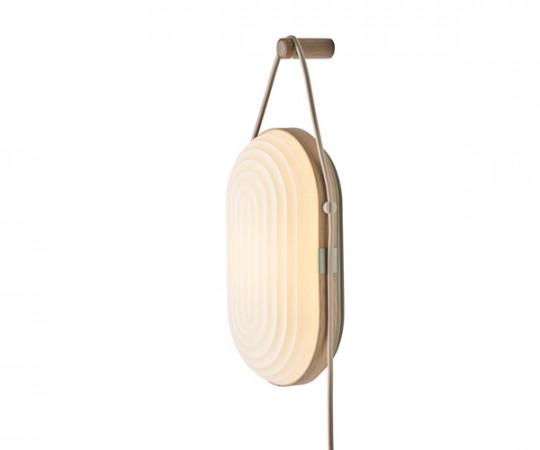Le Klint ARC Væglampe - Lys Eg