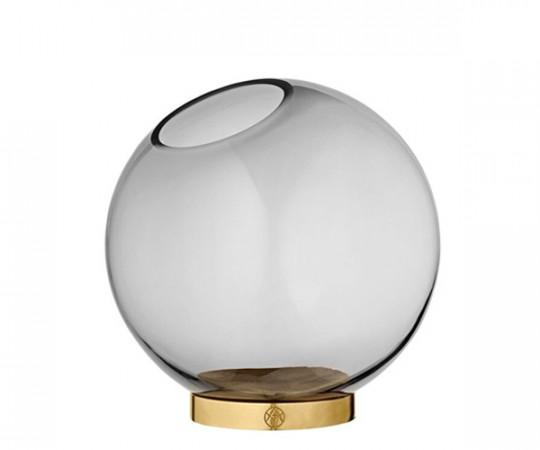 AYTM Globe vase black