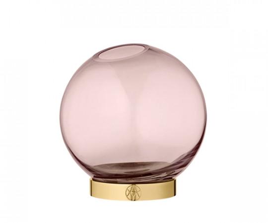 AYTM Globe vase rose