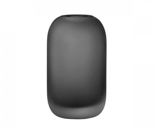 AYTM Hydria Glas Vase - Low - Sort