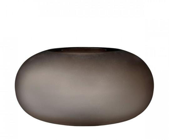 AYTM Hydria Glas Vase - Wide - Valnød