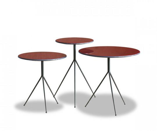 Baxter Liquid Sofabord / Sidebord - Marsala Rød