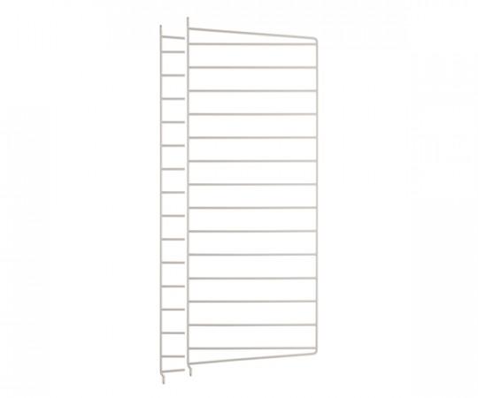 String Gavl 2-pack - Væghængt 75x30cm - Beige