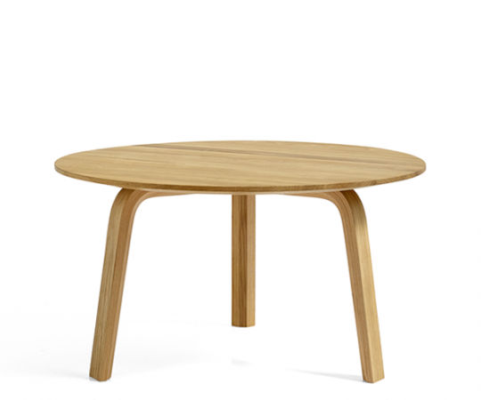 HAY Bella Coffee Table Stor - Ø60xH:32cm - Olieret Eg