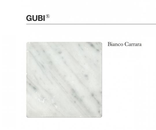 Gubi TS Coffee Table - 130x80cm - Hvid Marmor