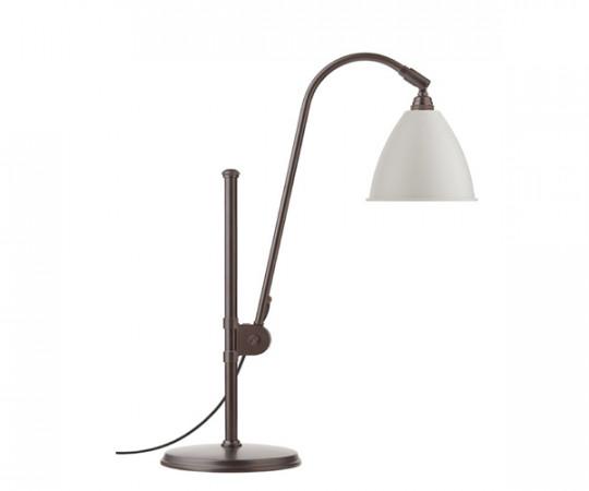 BESTLITE BL 2 bordlampe Sort messing / klassisk hvid