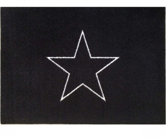 Skriver Collection Black Star designmat - måtte