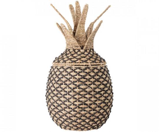 bloomingville ananas opbevaringskurv