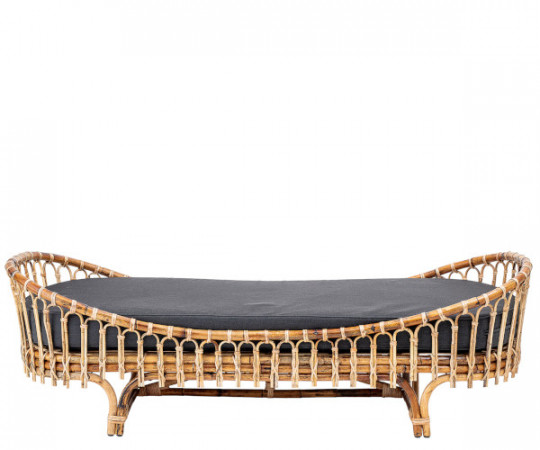 bloomingville madison rattan bambus daybed seng