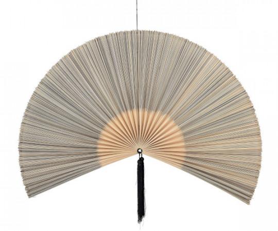 bloomingville bambus fane væg dekoration