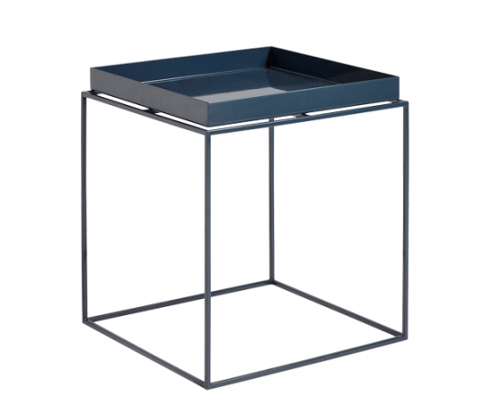 HAY Tray Table - 40x40cm - Deep Blue