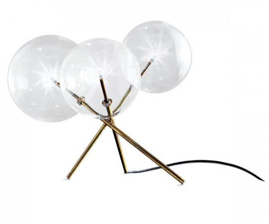 Gallotti & Radice Bolle Bordlampe m. 3 glas