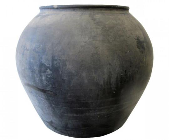 vintage ler krukke old jar
