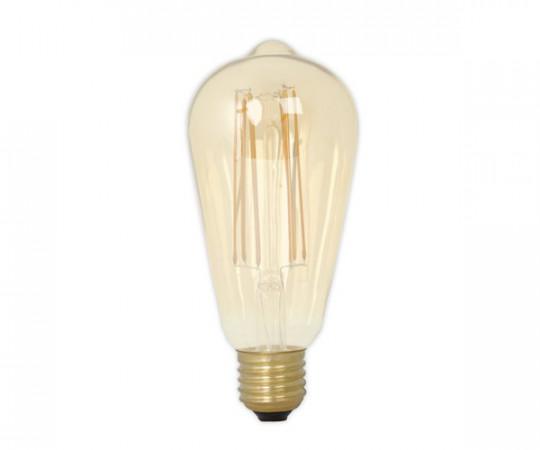 Calex LED Gold Drop Glødepære - E27 4W