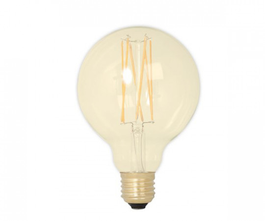 Calex LED Gold Globe Glødepære - E27 4W